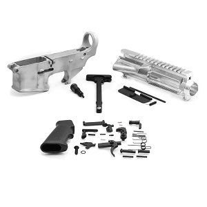 Ar 15 Upper receiver + complete parts kit + 80 % lower