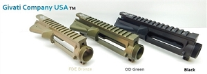 Ar 15 forged 7075 upper receiver cerakot Black,fde,od green and more