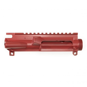 Ar 15  stripped upper receiver red